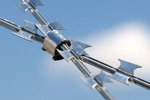 Standard clip on Concertina barbed wire
